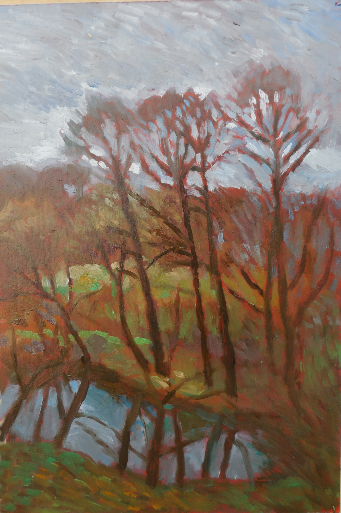 Stas Volostnych. Autumn day