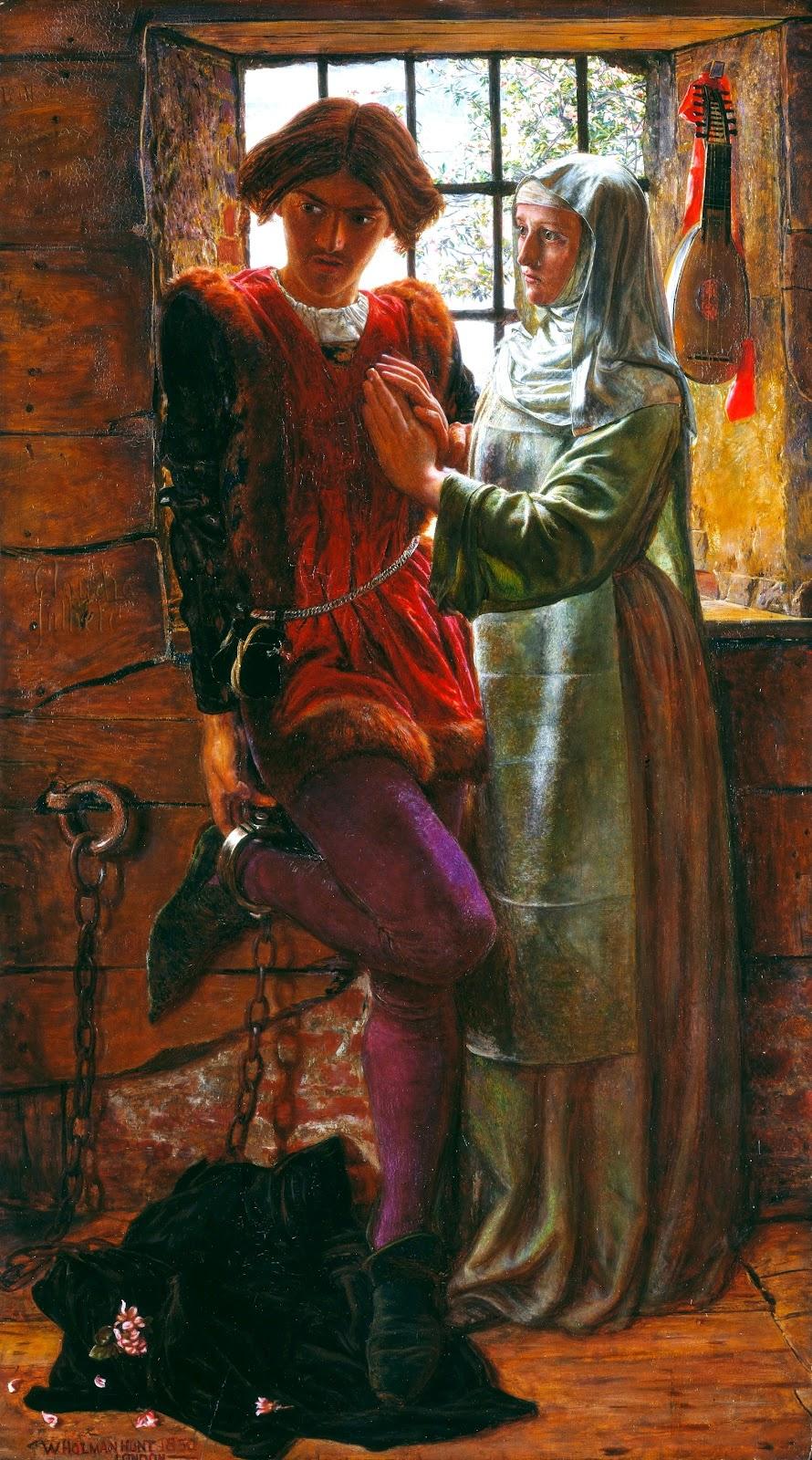 William Holman Hunt. Claudio and Isabella