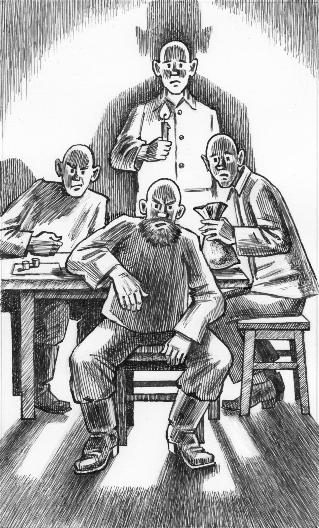 Alexander Vasilievich Kuzmin. Five abducted monks. Yuri Koval.