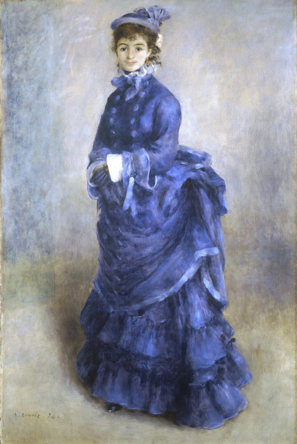 Pierre-Auguste Renoir. Parisienne
