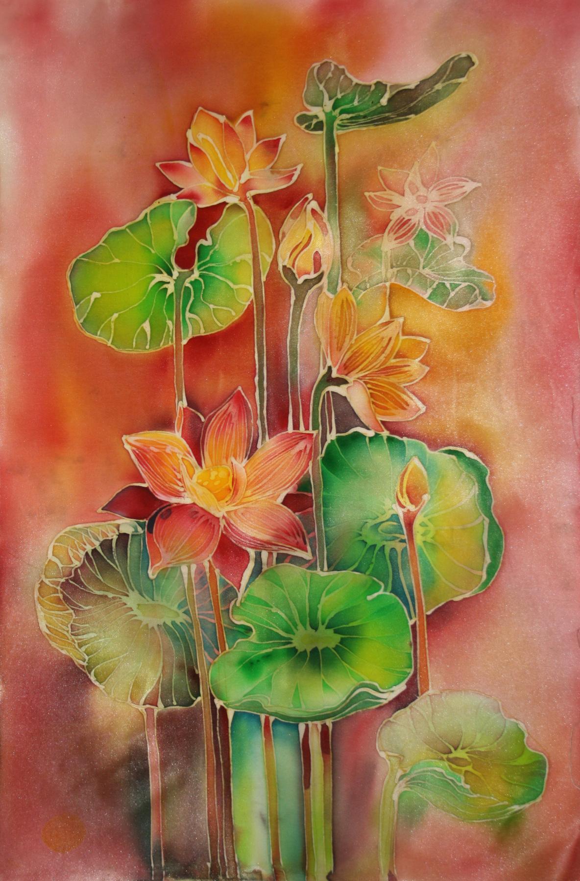 """Anna Badalyan. """"Lotuses"""""""