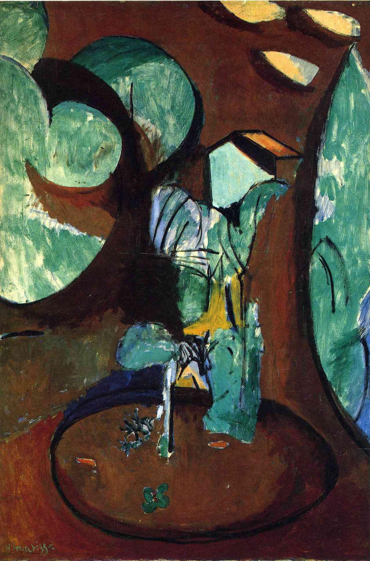 Henri Matisse. Garden in Issy