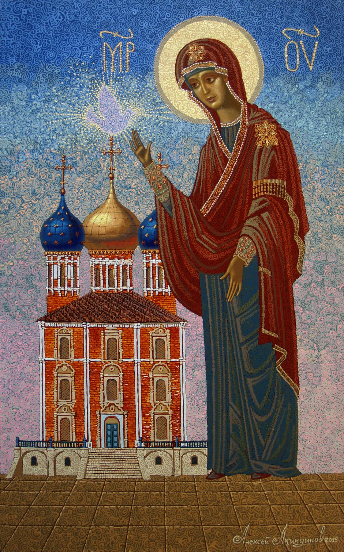 Алексей Петрович Акиндинов. Protection of the Holy Virgin