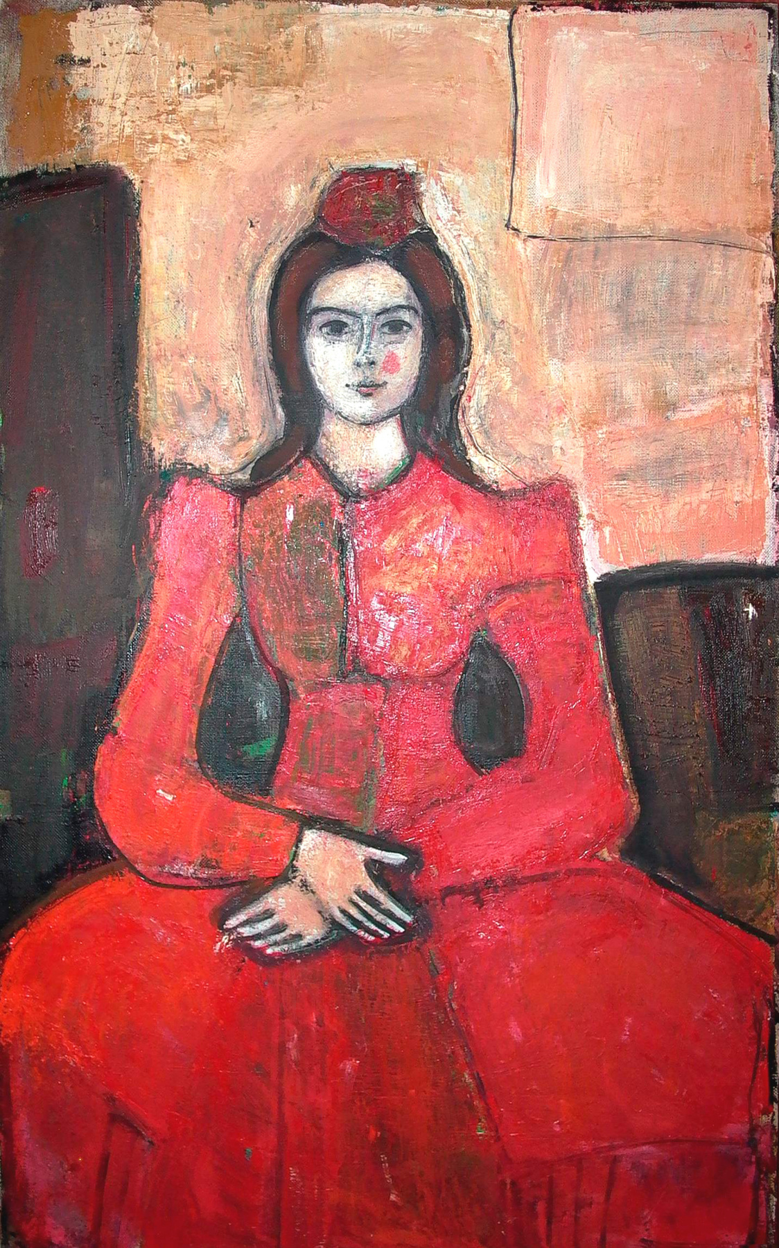 "Igor Vasilyevich Kislitsyn. ""Portrait of V. in the hood"""