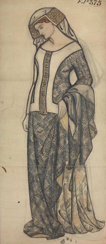 William Morris. Guinevere