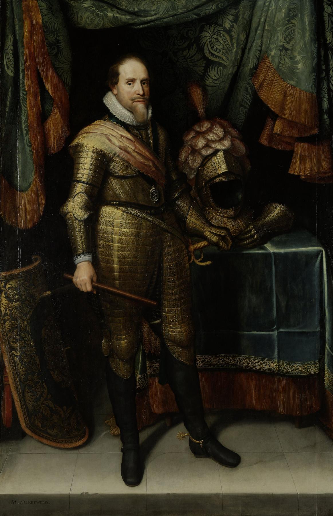 Portrait of Maurits, Prince of Orange