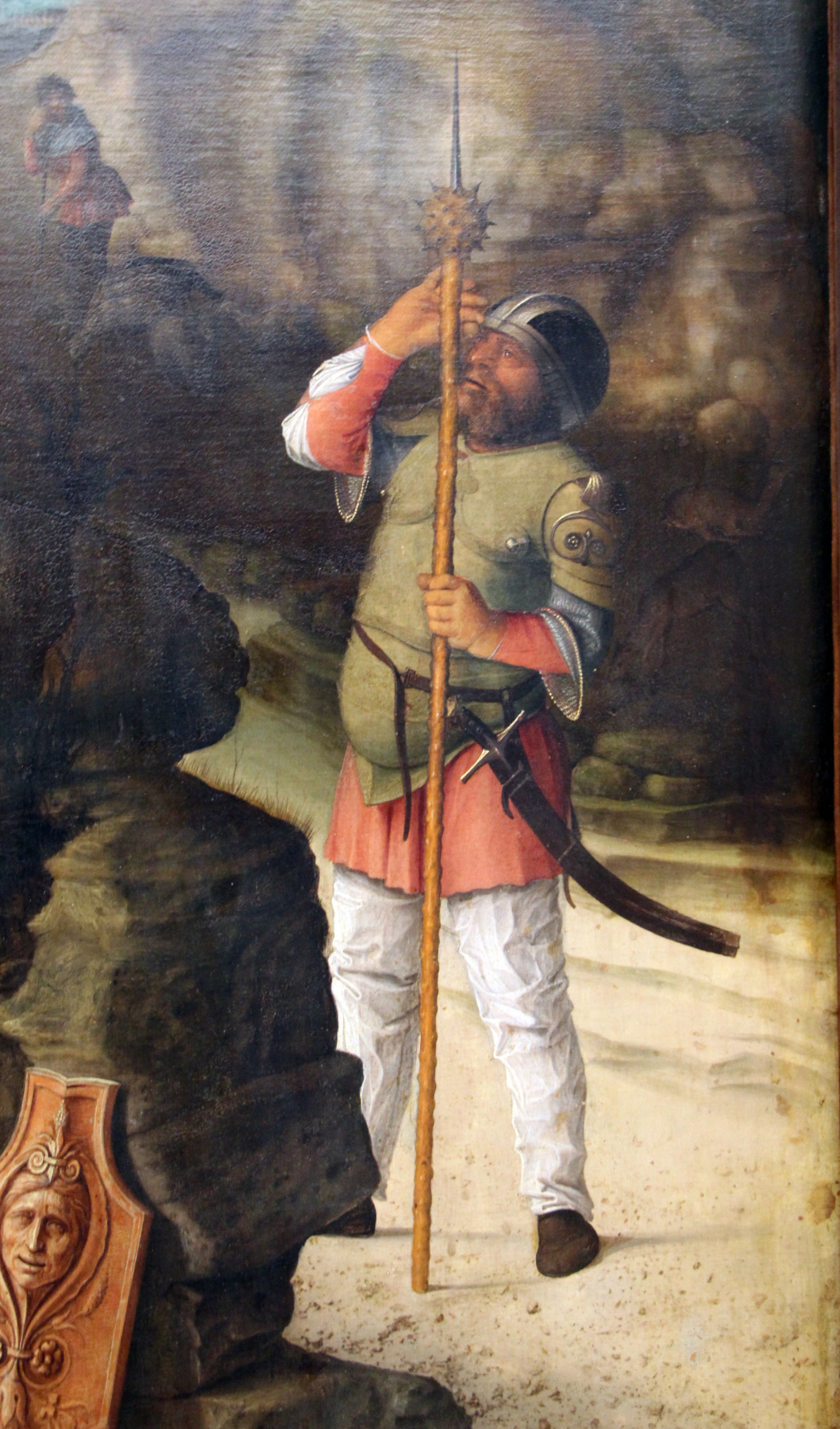 Giovanni Bellini. Resurrection of Christ. Fragment II