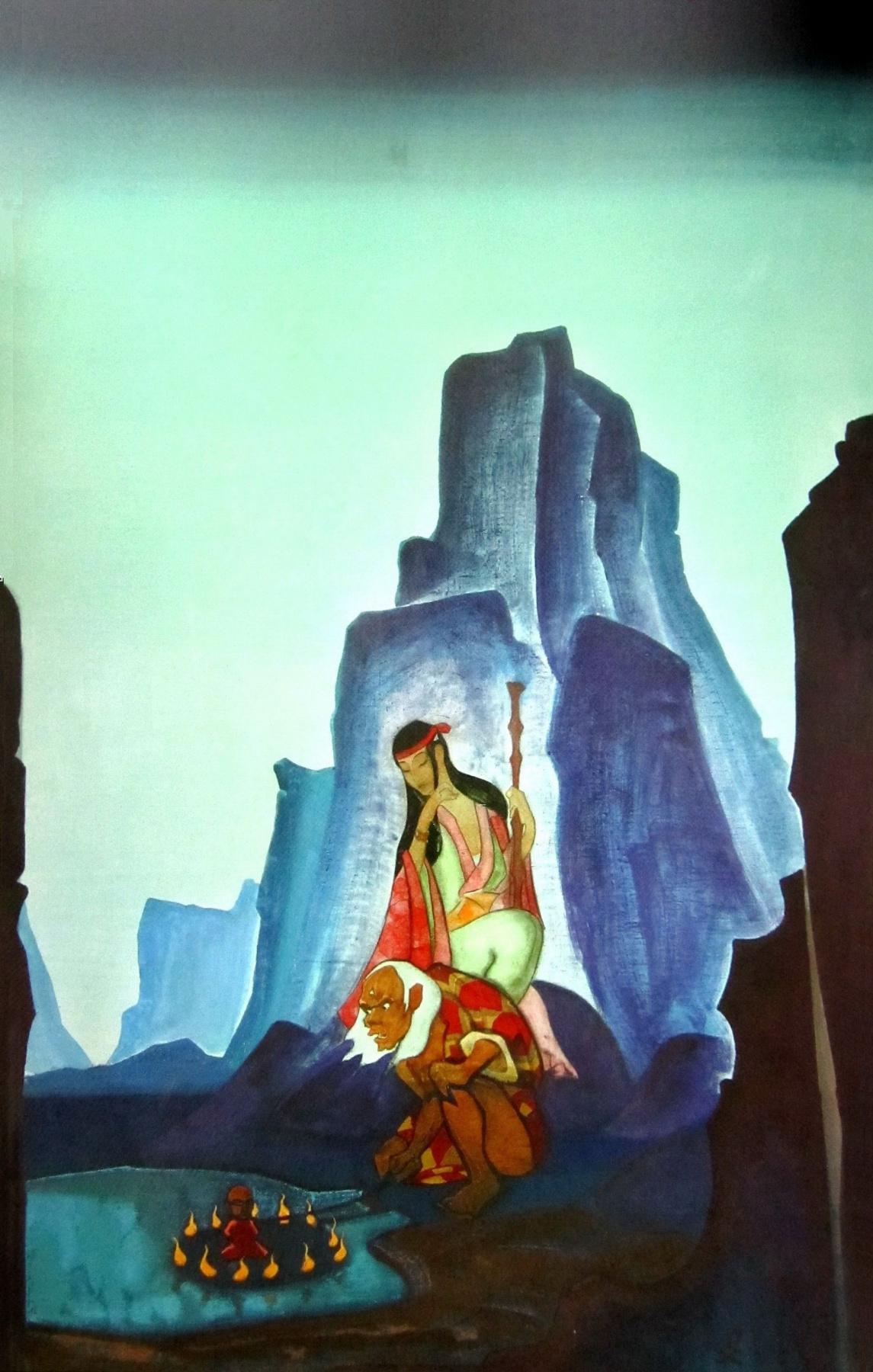Nicholas Roerich. Teraphim