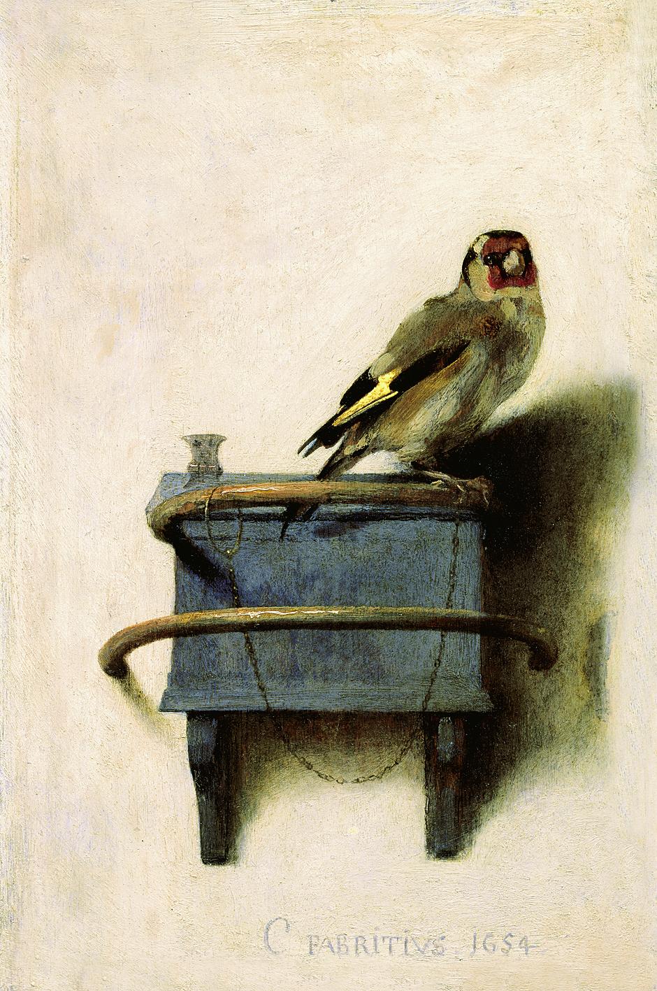 Karel Fabricius. Goldfinch