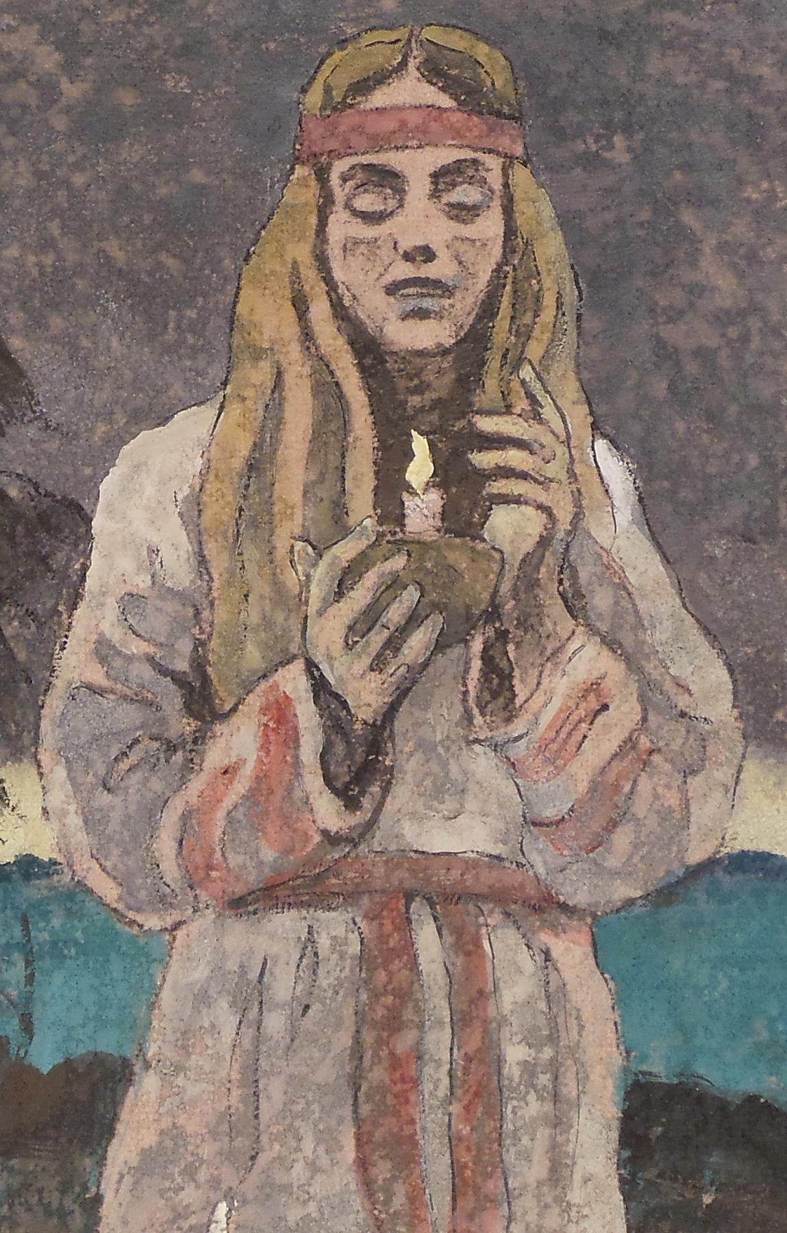 VALERIY VLADIMIROVICH KOMAROV. PRAYER. (fragment)