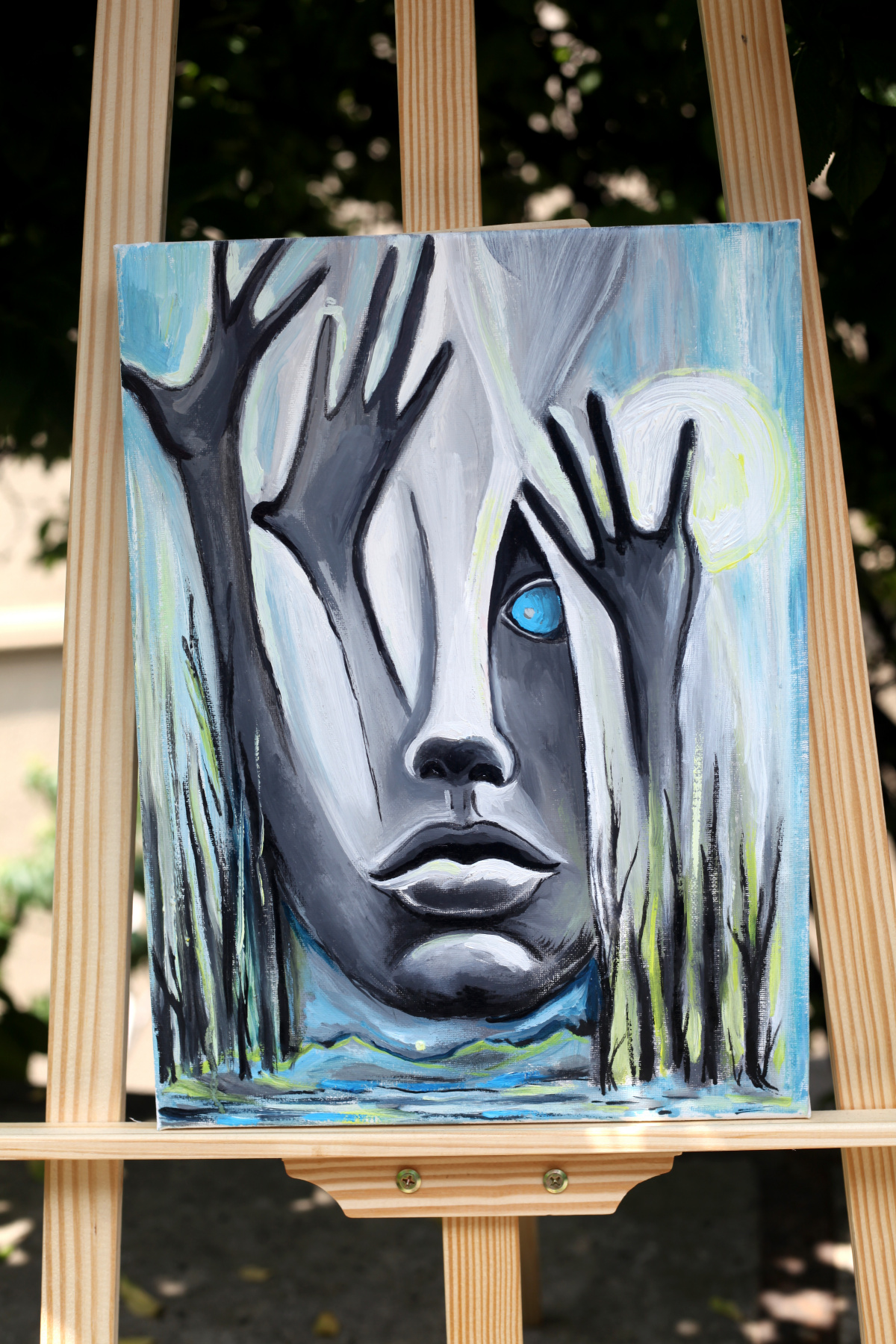 Michael Tchitchinadze (13). Deadly existence - canvas 40 x 30. oil. Price 600 $
