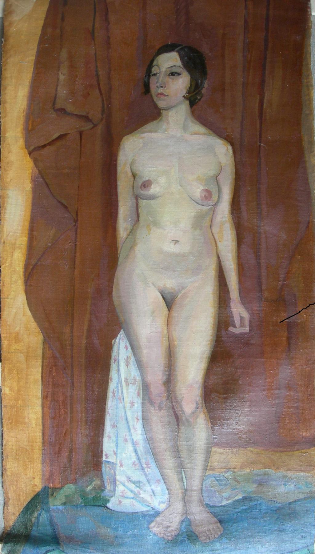 Eugene Alexandrovich Kazantsev. Nude