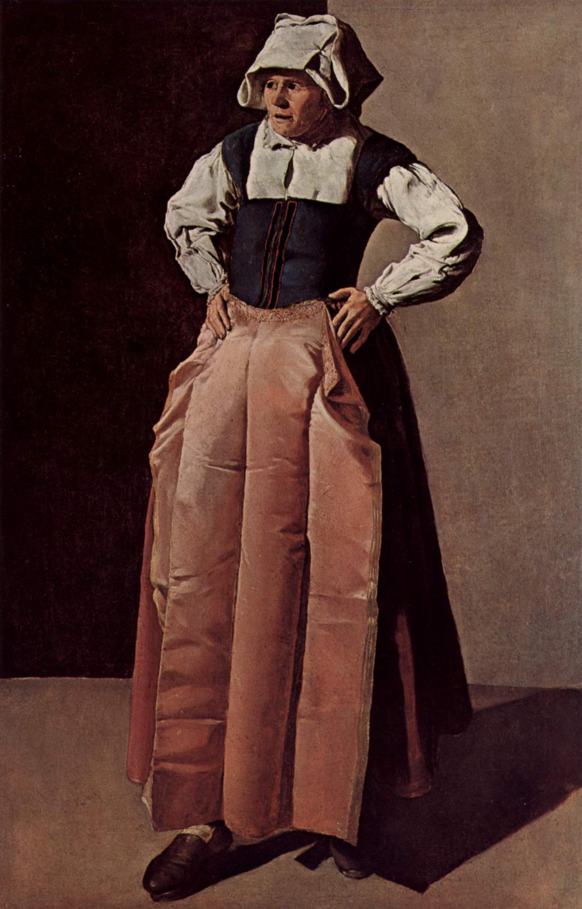 Georges de La Tour. Portrait of an elderly woman