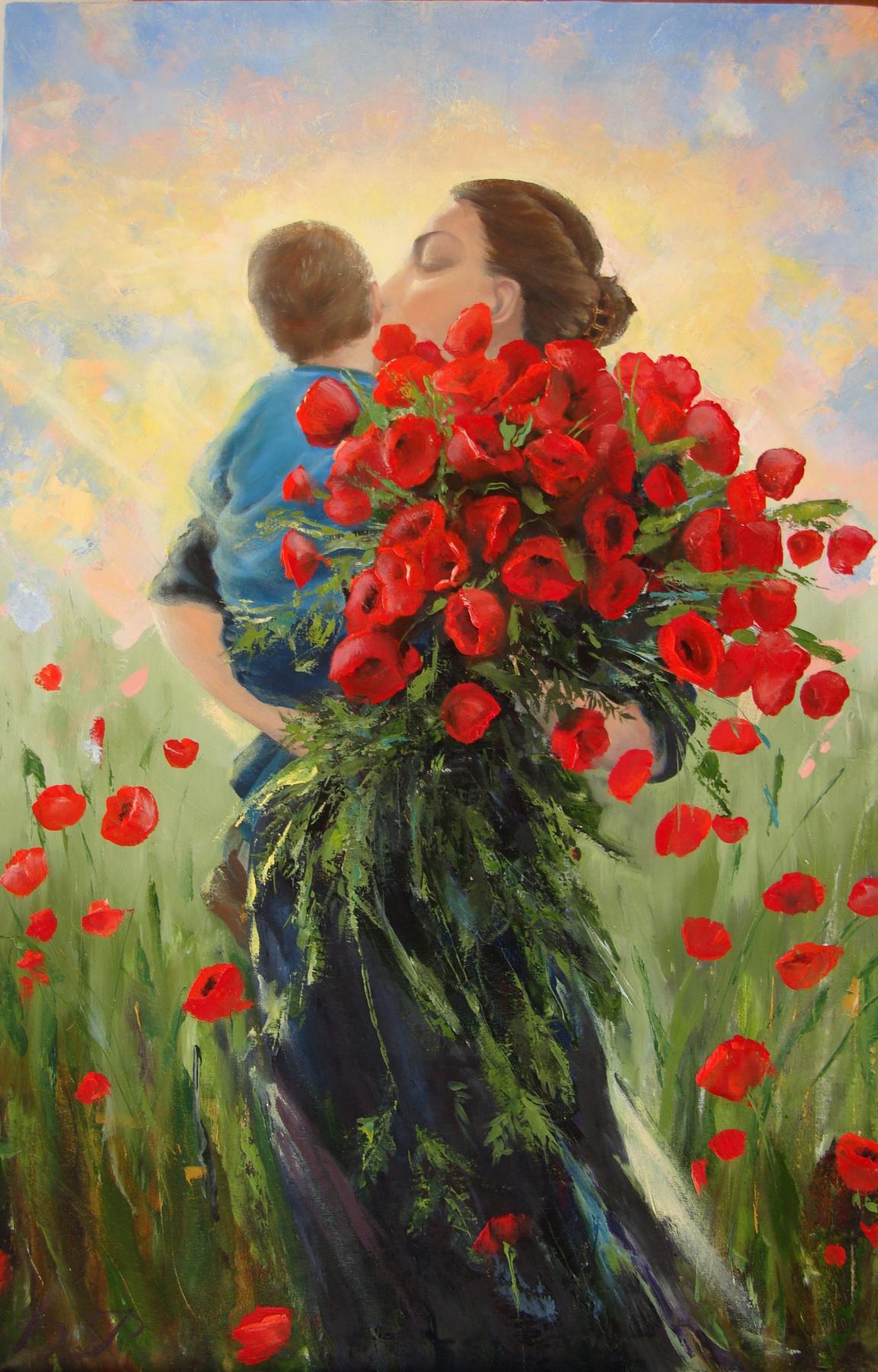 Ruzana Mukhamedovna Datsirkhoeva. The joy of life