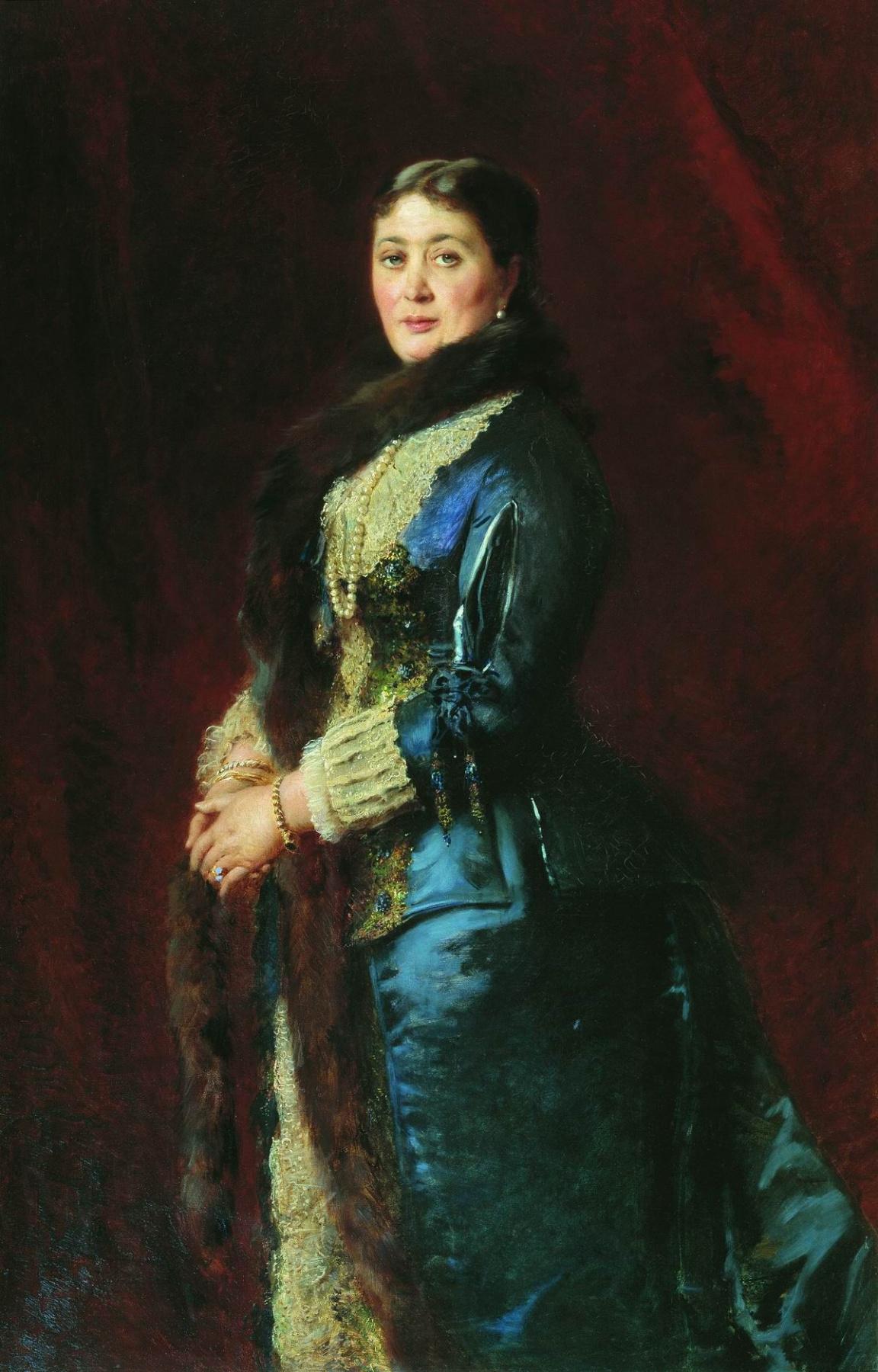 Konstantin Makovsky. Portrait of Countess Maria Yegorovna Orlova-Davydova