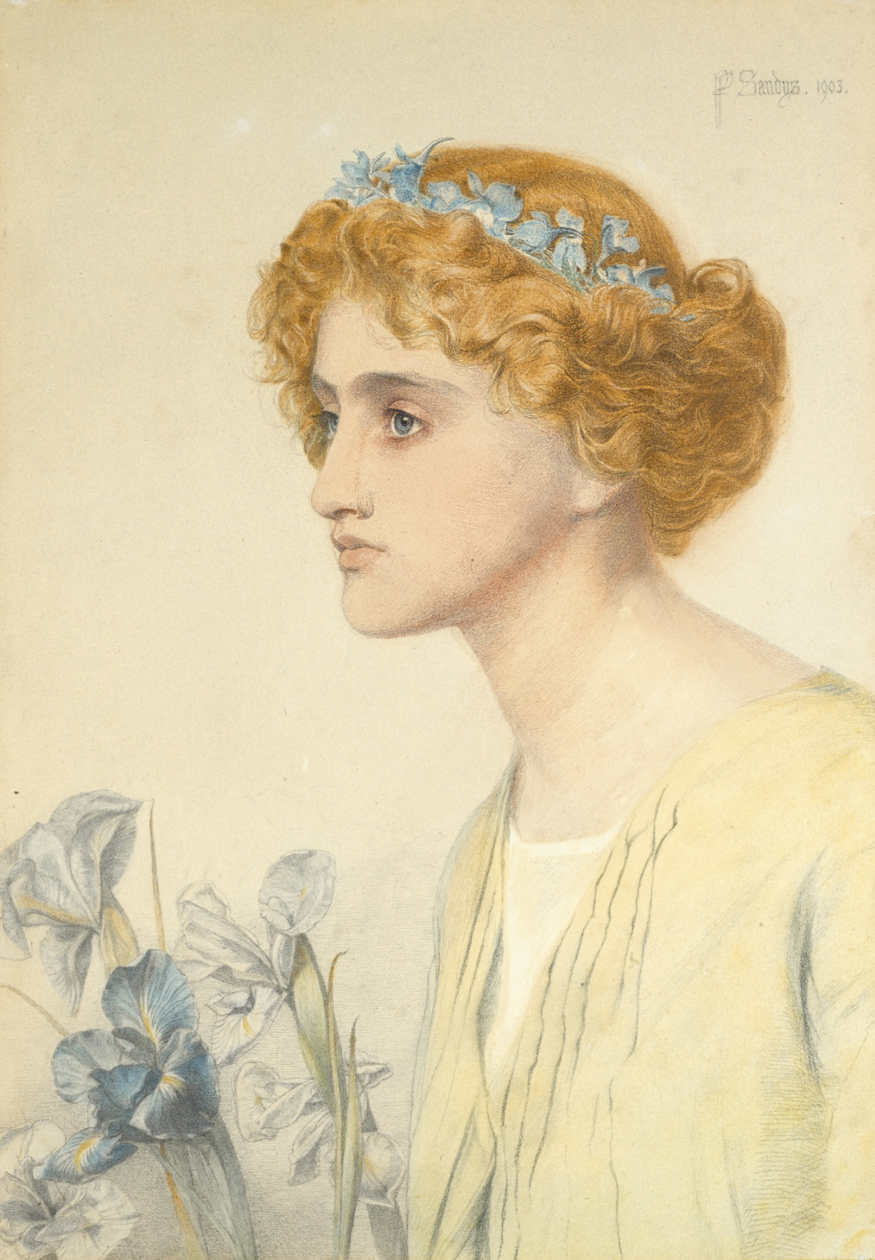 Anthony Frederick Augustus Sandys. Iris