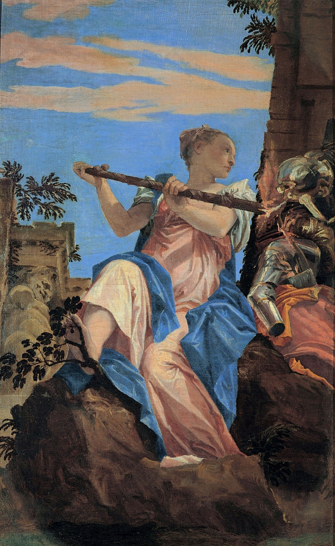 Paolo Veronese. Allegory of the World