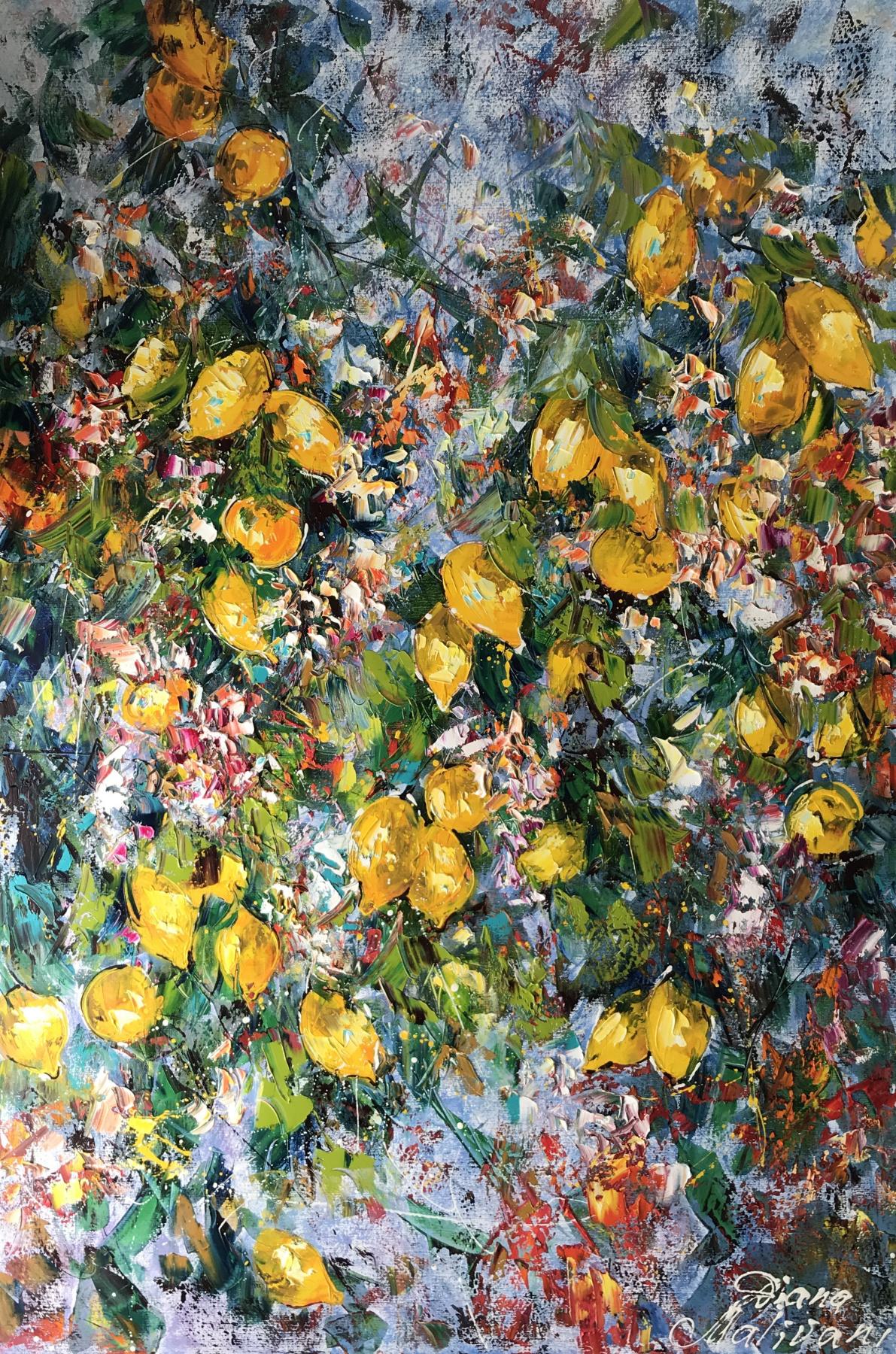 Диана Владимировна Маливани. Blooming Lemon Tree