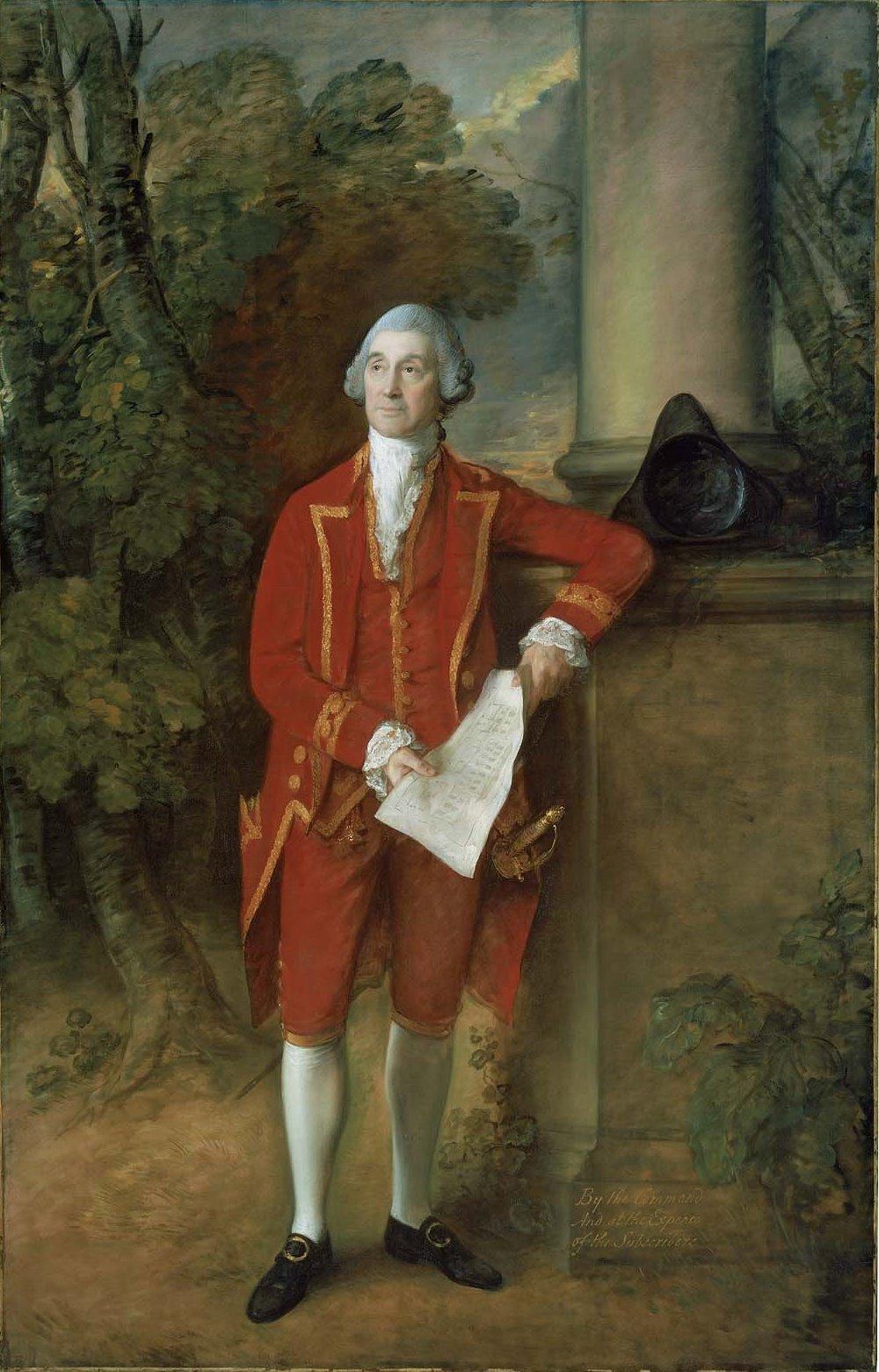 Thomas Gainsborough. John And from Safford hall, Stafford