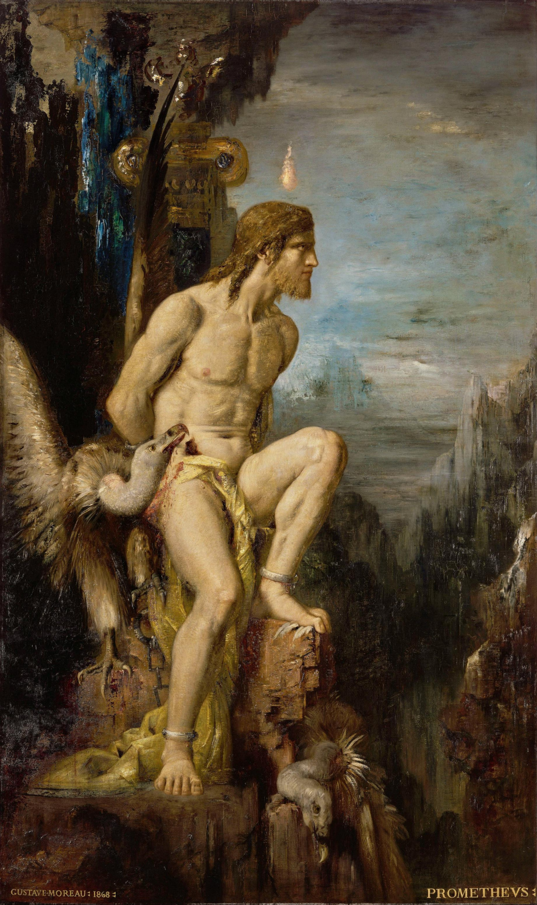 Gustave Moreau. Prometheus