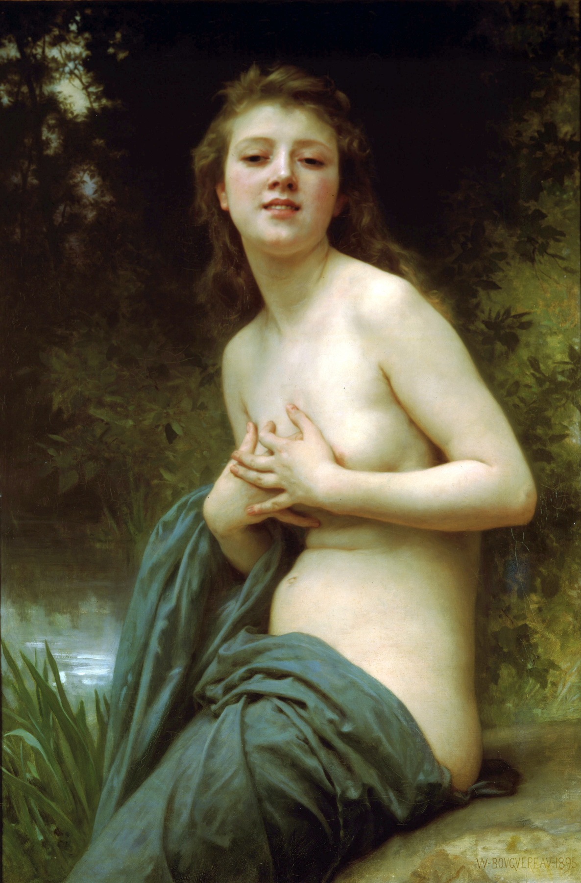 William-Adolphe Bouguereau. Breath of spring