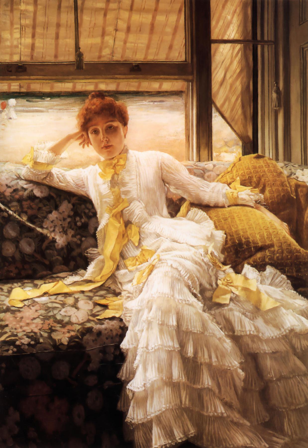 Джеймс Тиссо. Весенний портрет