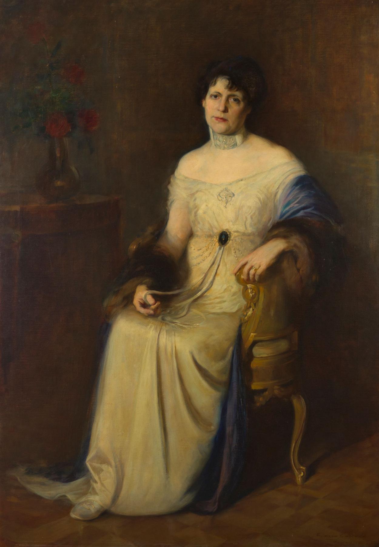 Ernesto from La Cárcova. Portrait of the author's wife