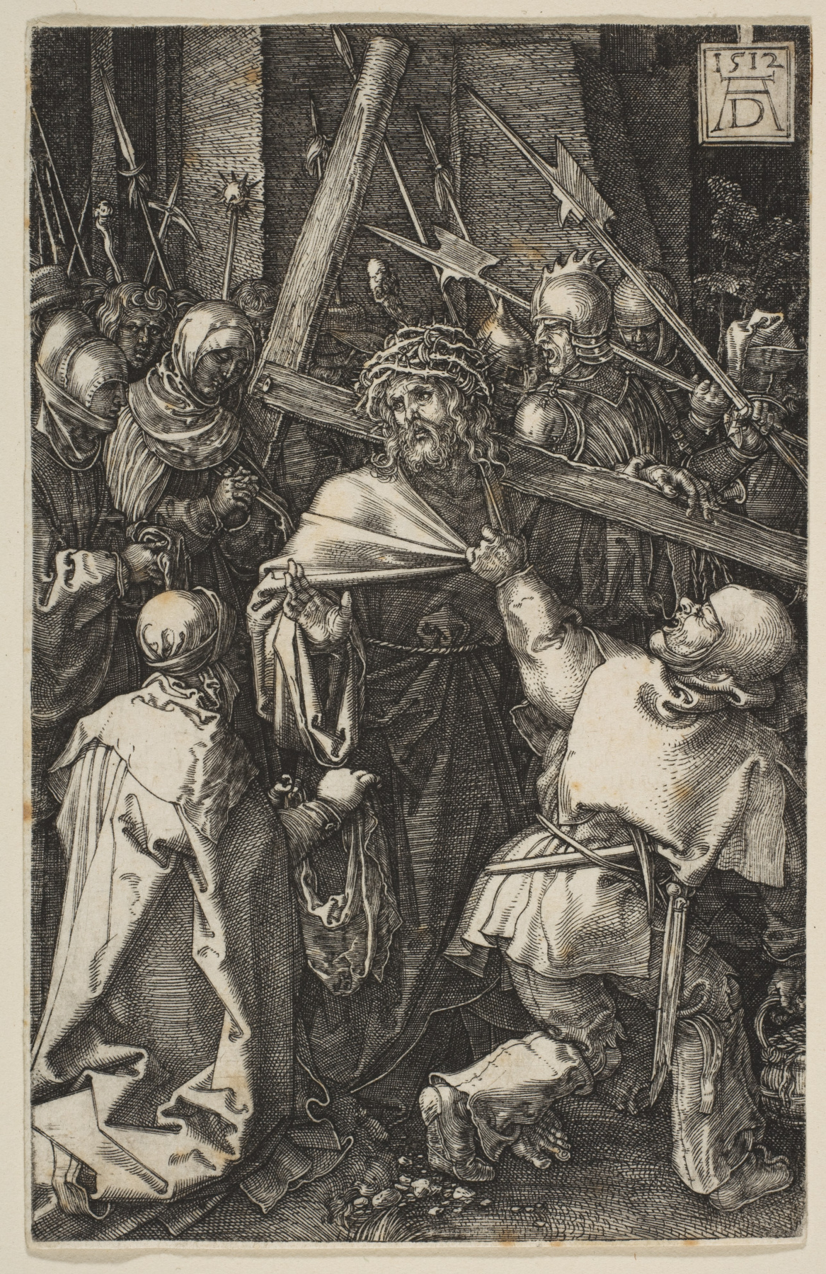 """Albrecht Dürer. Christ carrying the cross. From the cycle """"the passion of the Christ"""""""