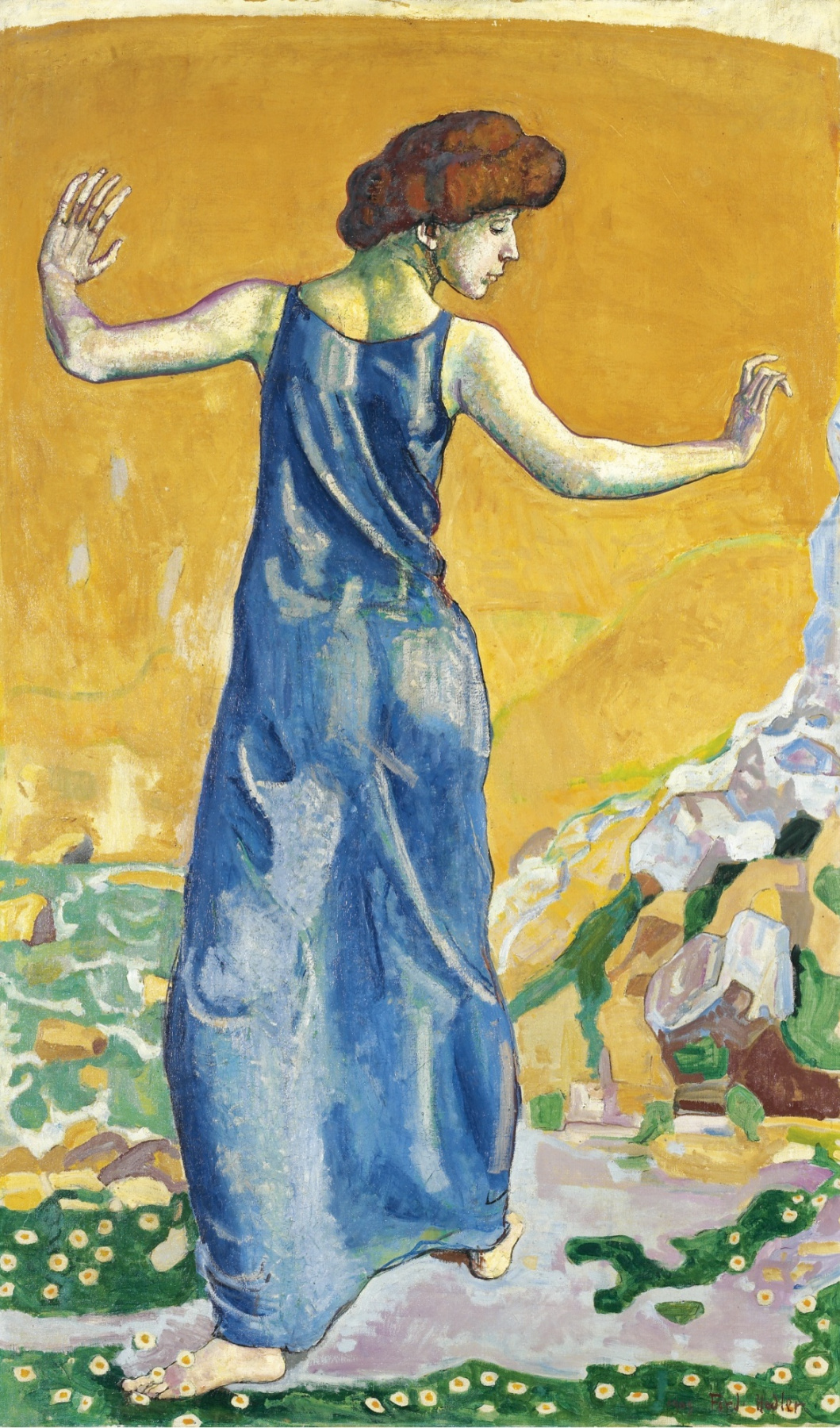 Giovanni Giacometti. Cheerful woman