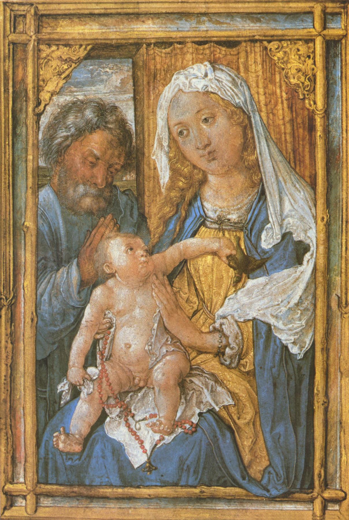 Albrecht Durer. Holy family