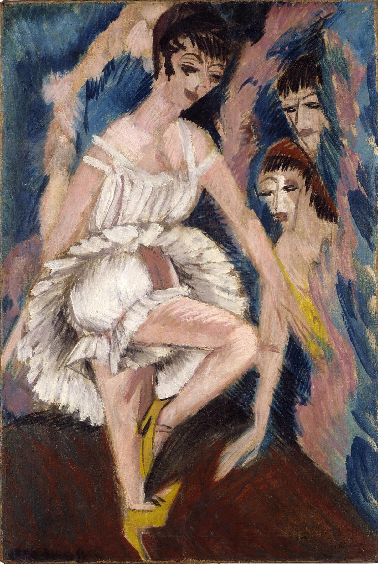 Ernst Ludwig Kirchner. Dancers
