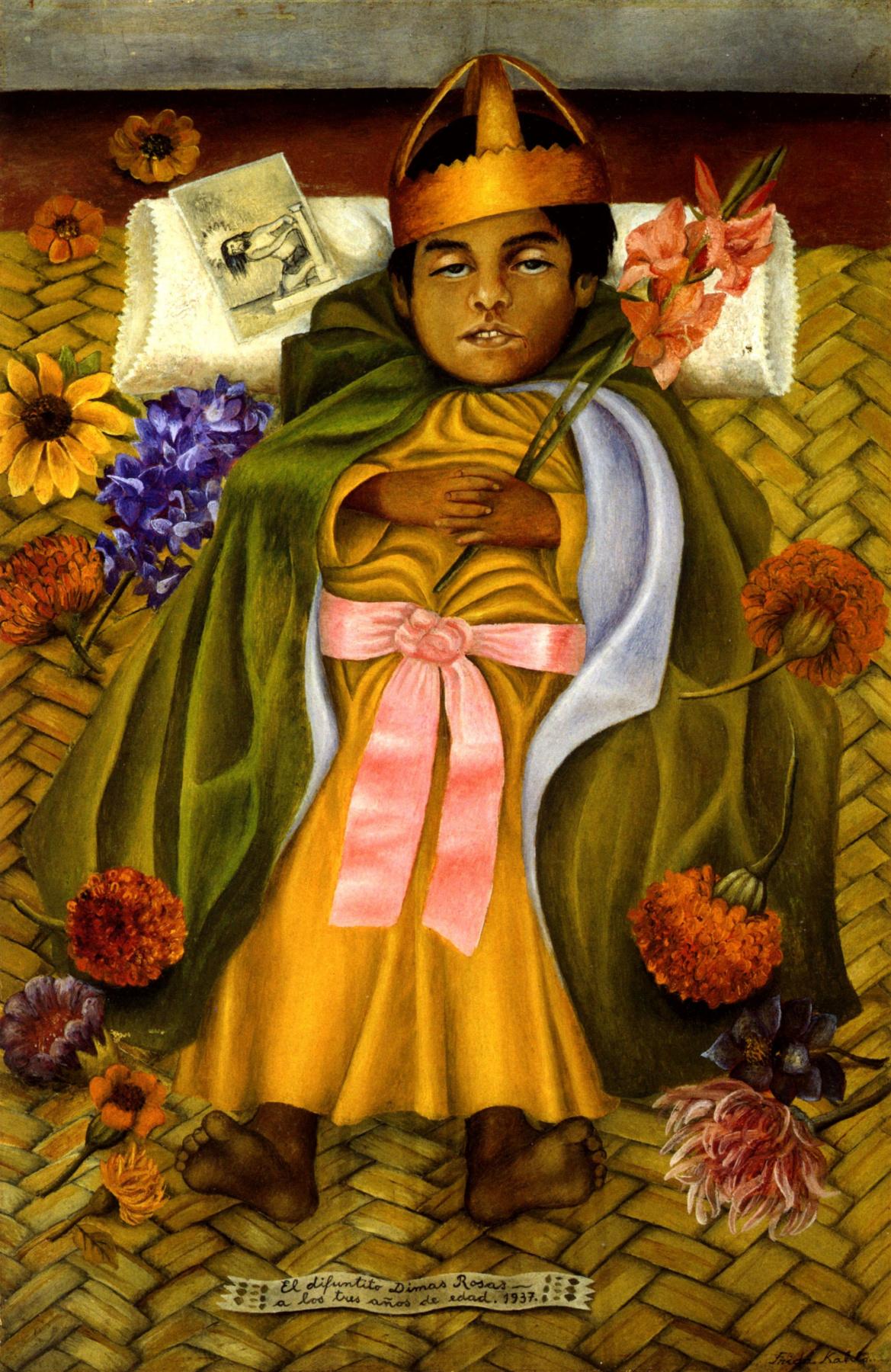 Frida Kahlo. The Deceased Dimas