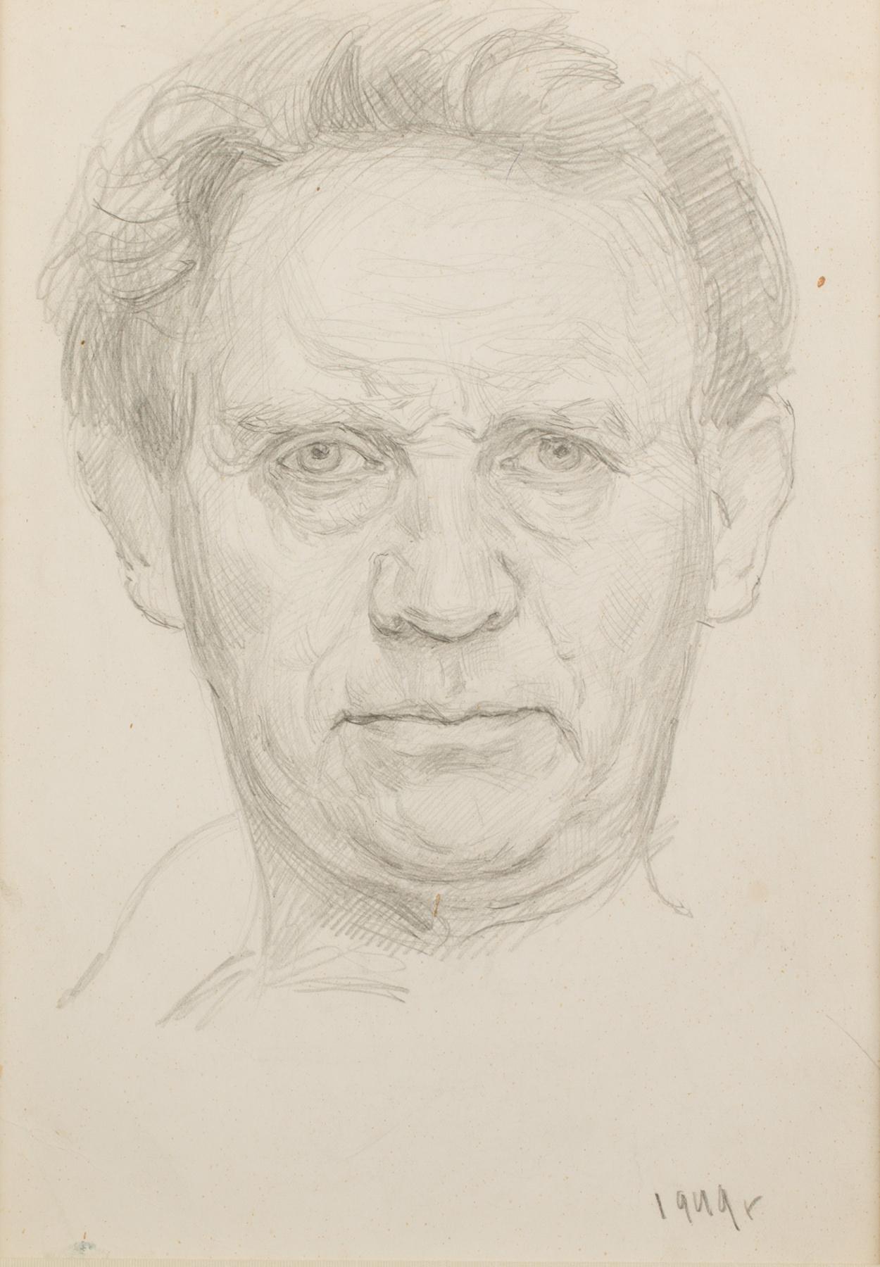 Mark Grigorievich Weinstein. Self-portrait