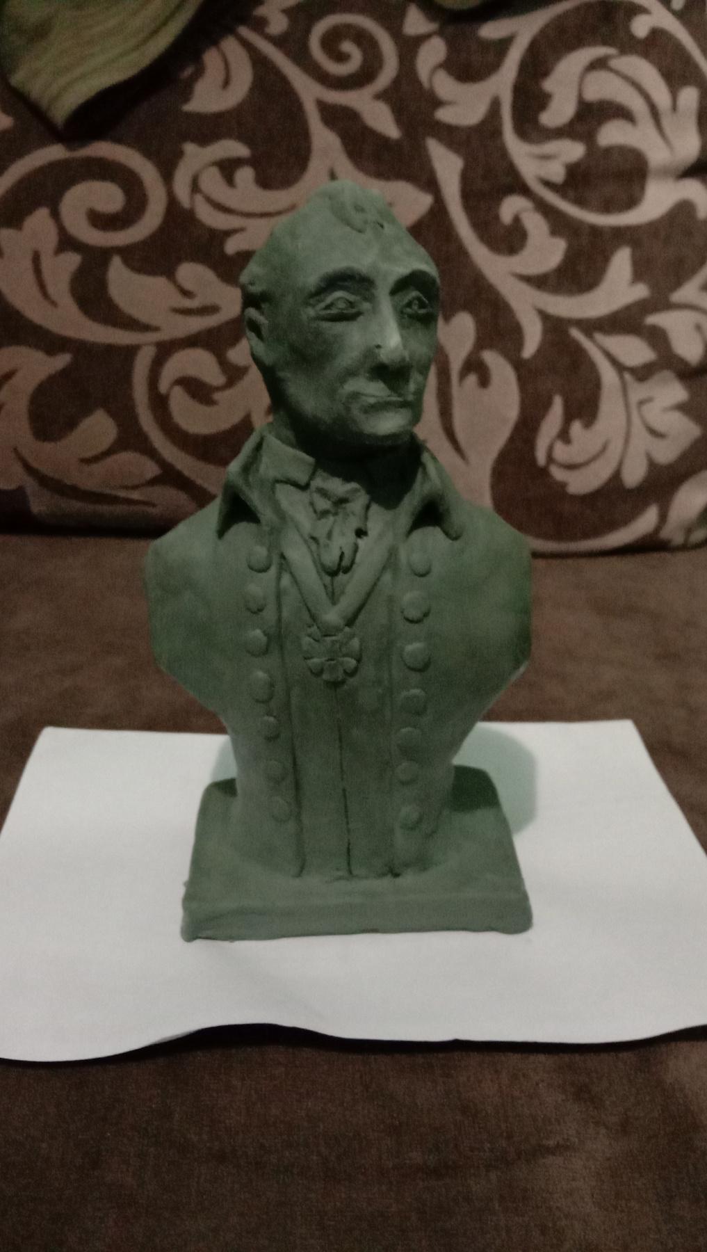 Maxim Alexandrovich Stepochkin. A. V. Suvorov (bust)