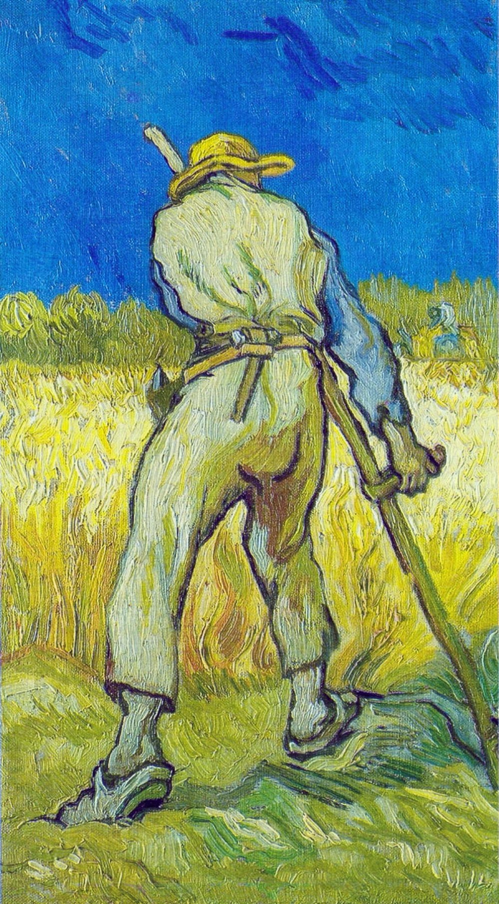 Винсент Ван Гог. Жнец (по мотивам Милле)