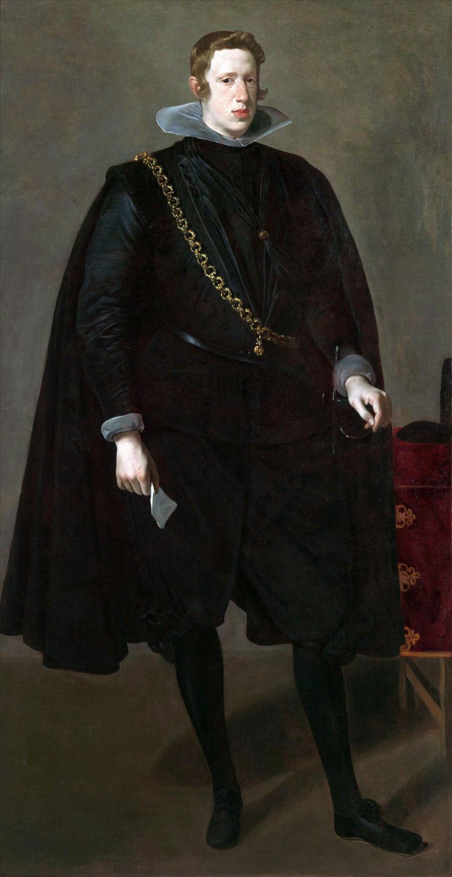 Diego Velazquez. Portrait of Philip IV