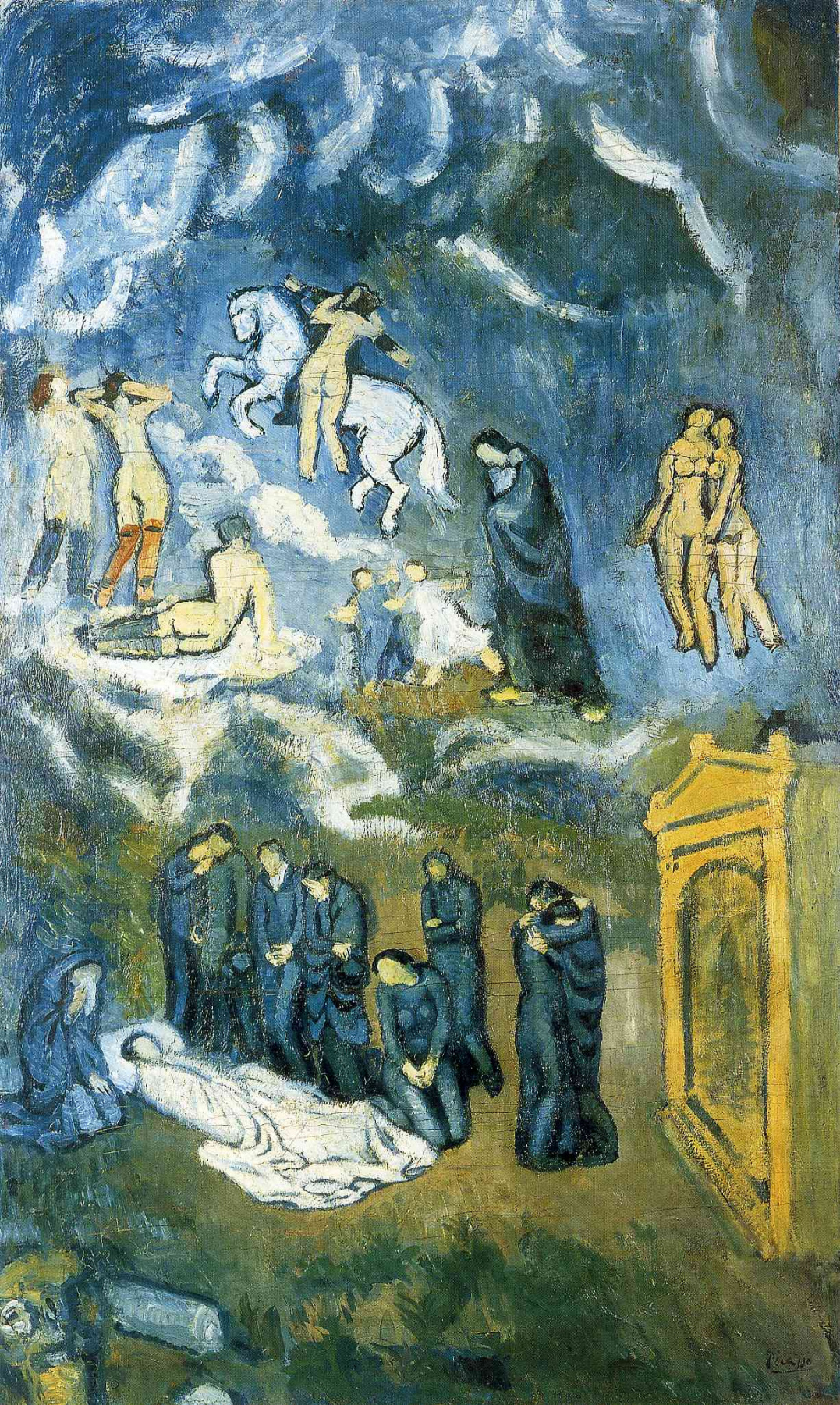Pablo Picasso. The Funeral Of Casagemas