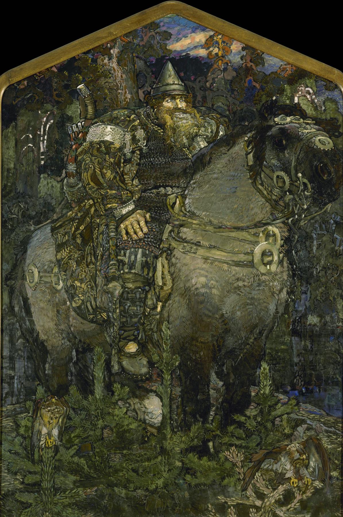 Mikhail Vrubel. Hero