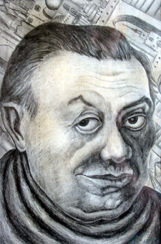 Vladimir Vasilyevich Abaimov. Diego Rivera 2