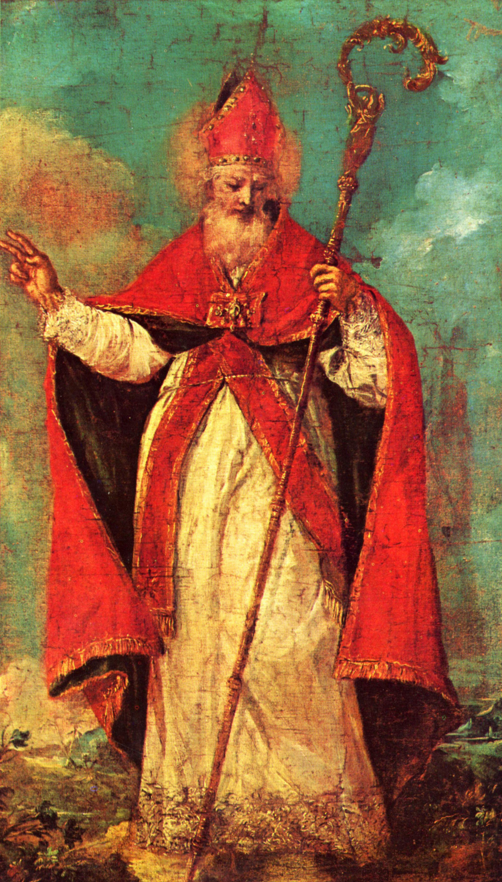 Francesco Guardi. St. Nicholas