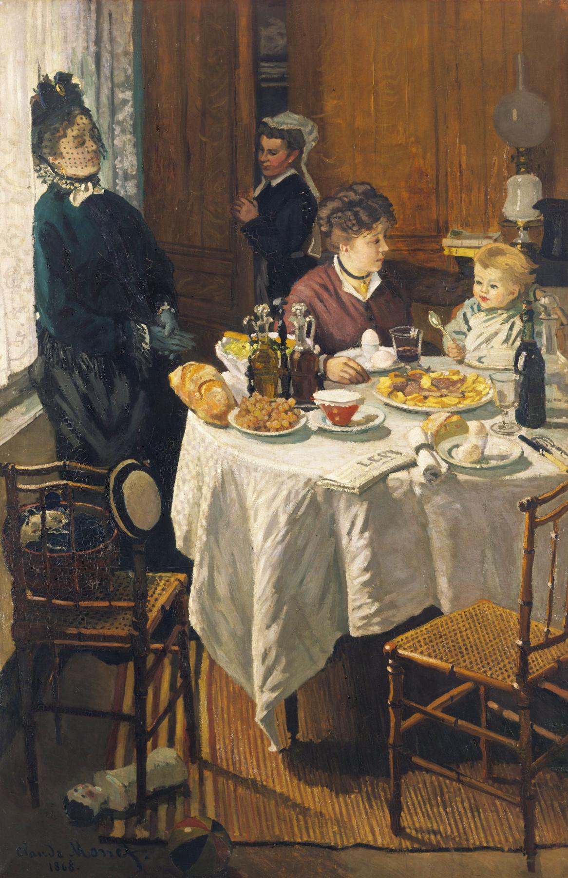 Claude Monet. Lunch