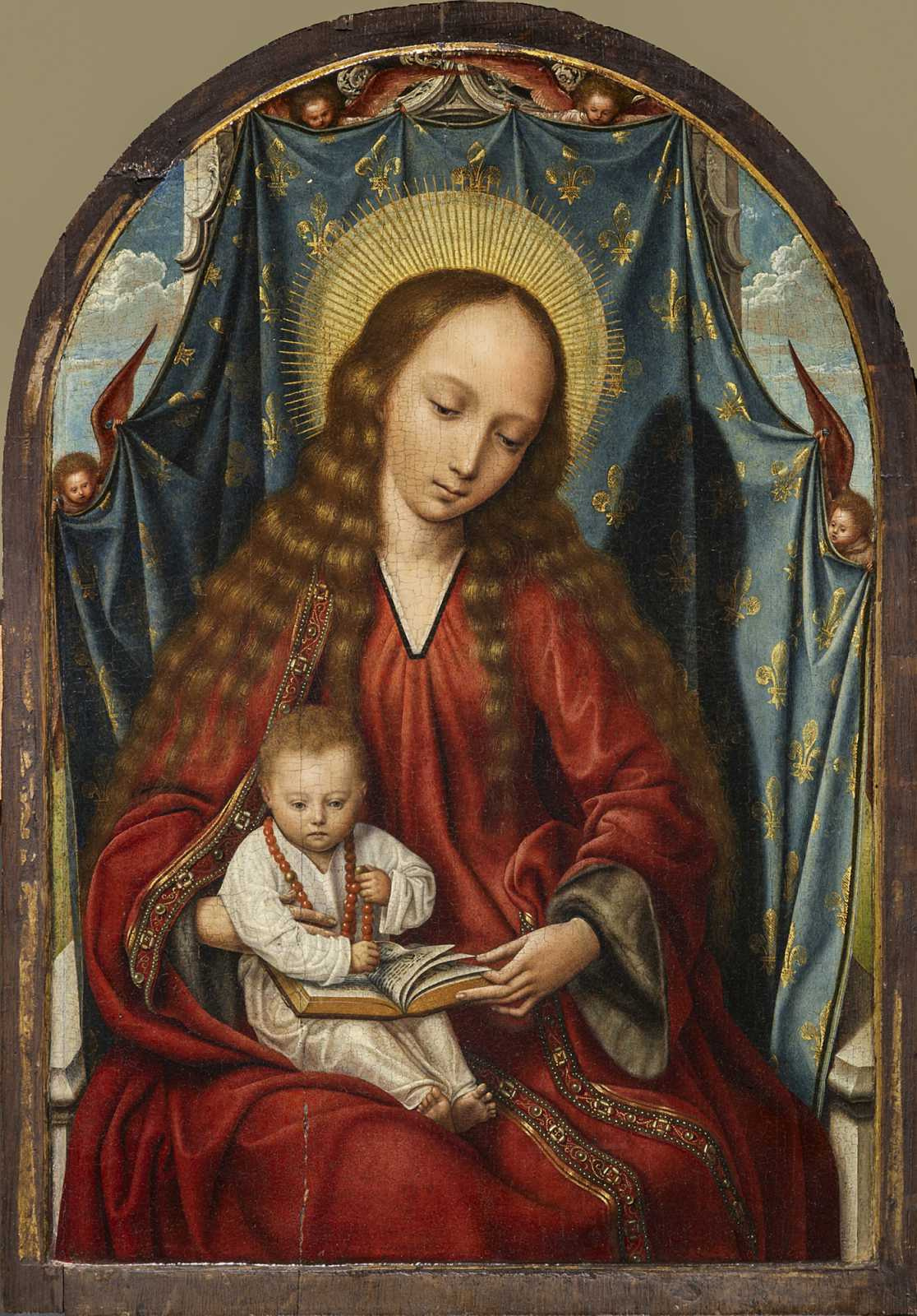 Quentin Masseys. Madonna and Child Christ
