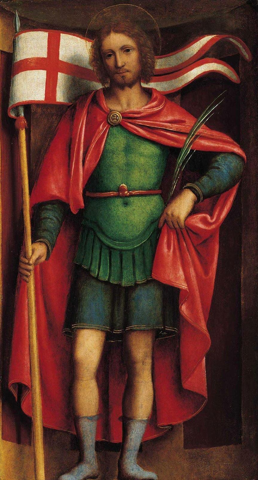 Bernardino Luini. Saint Alexander