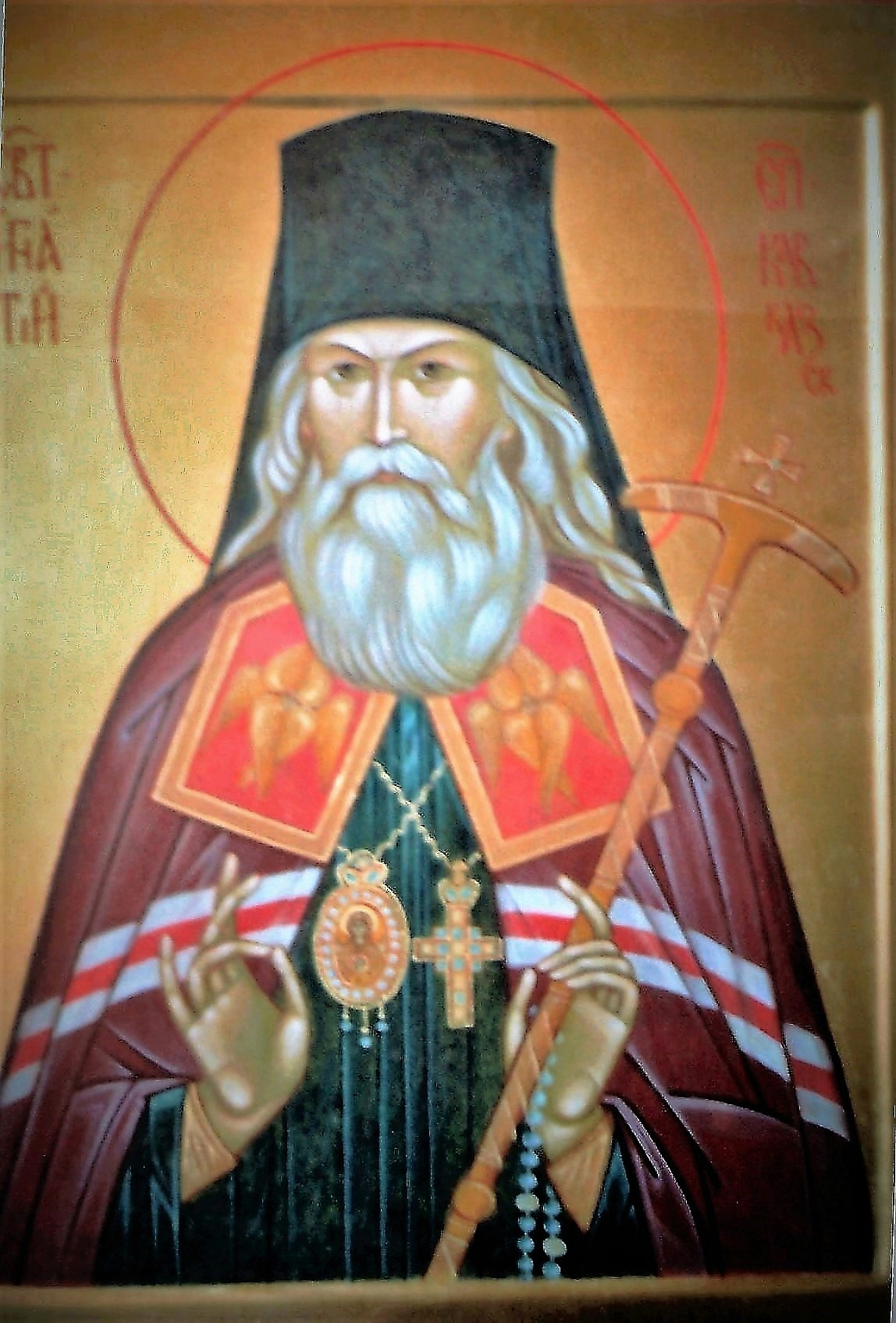 Irina Alexandrovna Ivanova. Icon, the image of St. Ignatius Brianchaninov