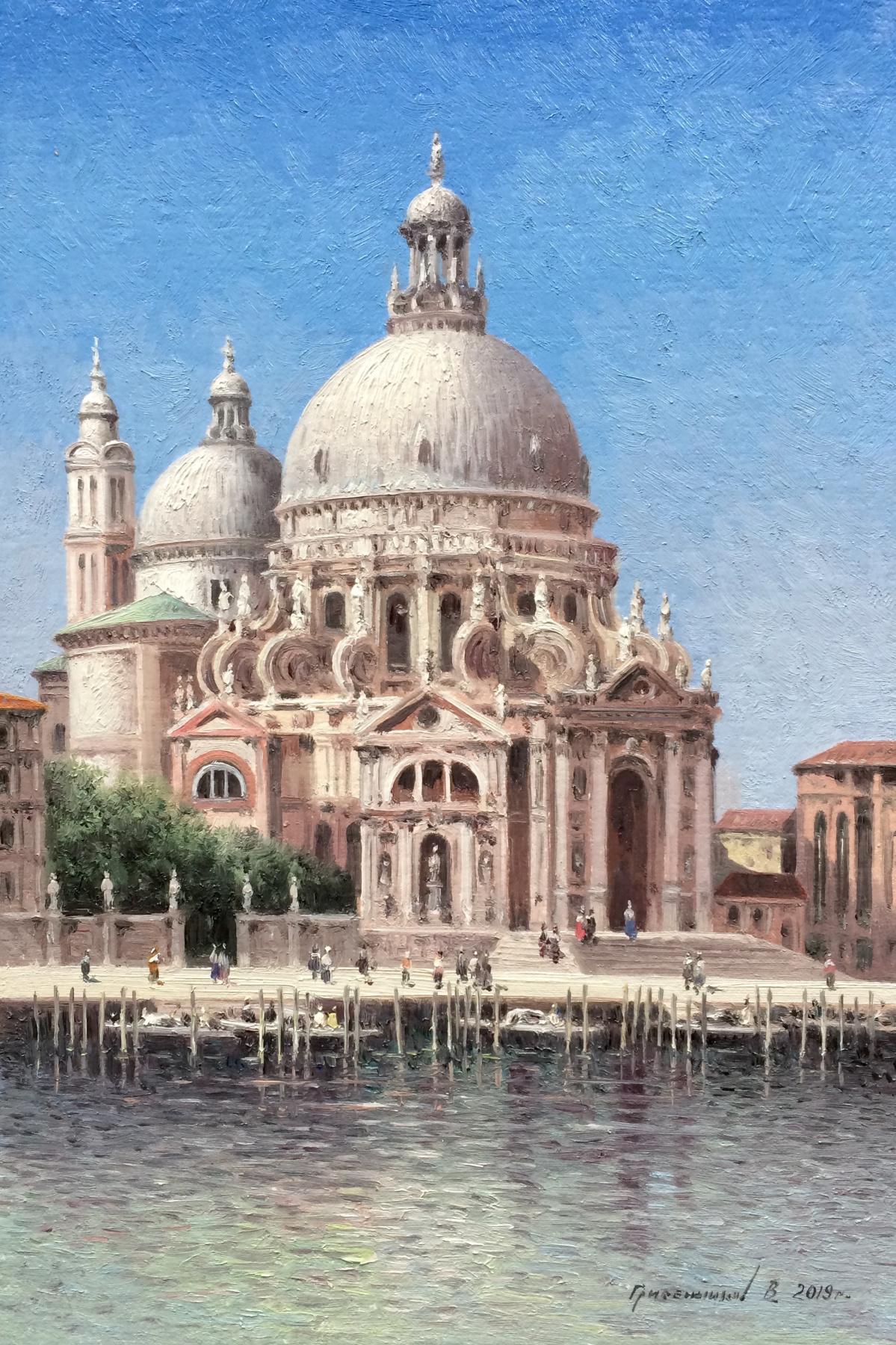 Vasily Ivanovich Gribennikov. Cathedral of St. Mary. Venice