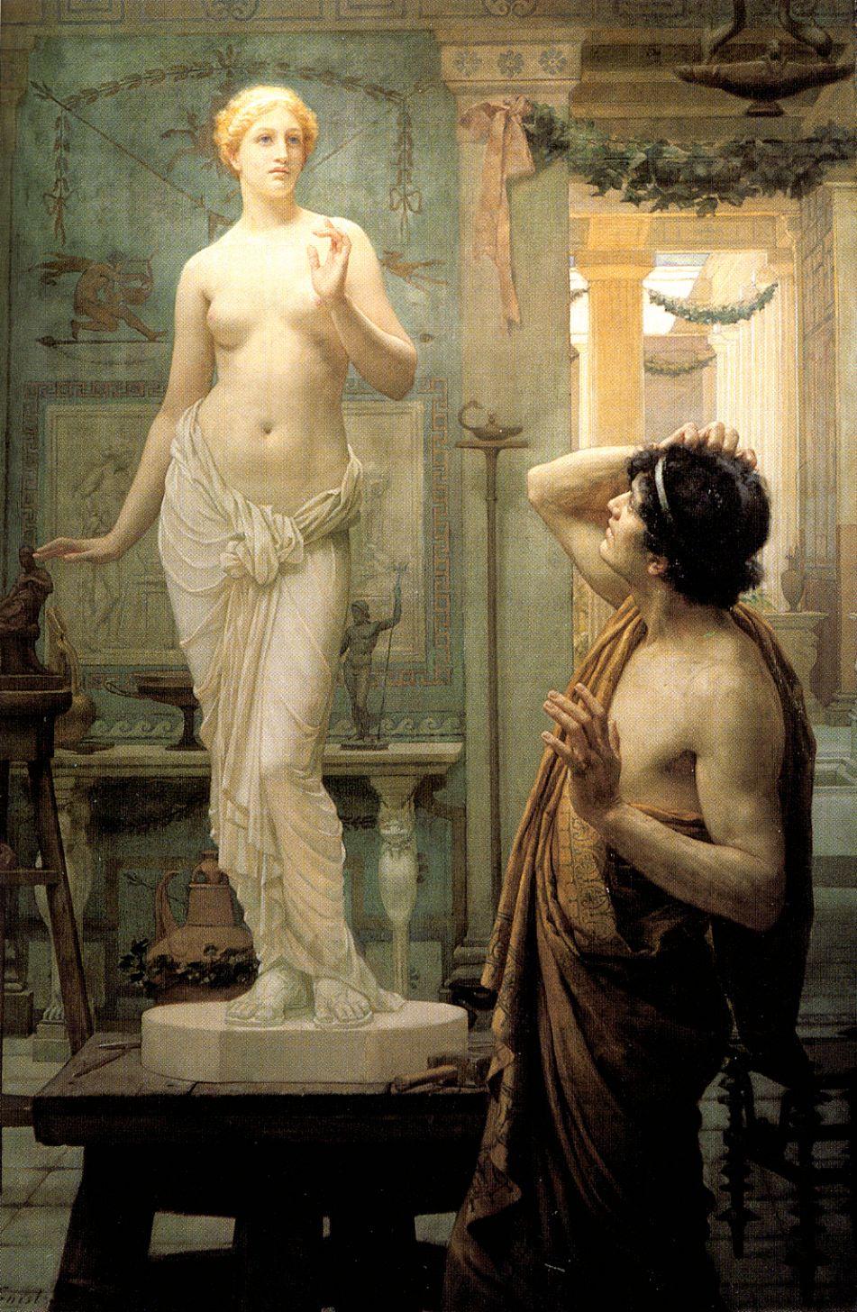 Ernest Norman. Pygmalion and Galatea
