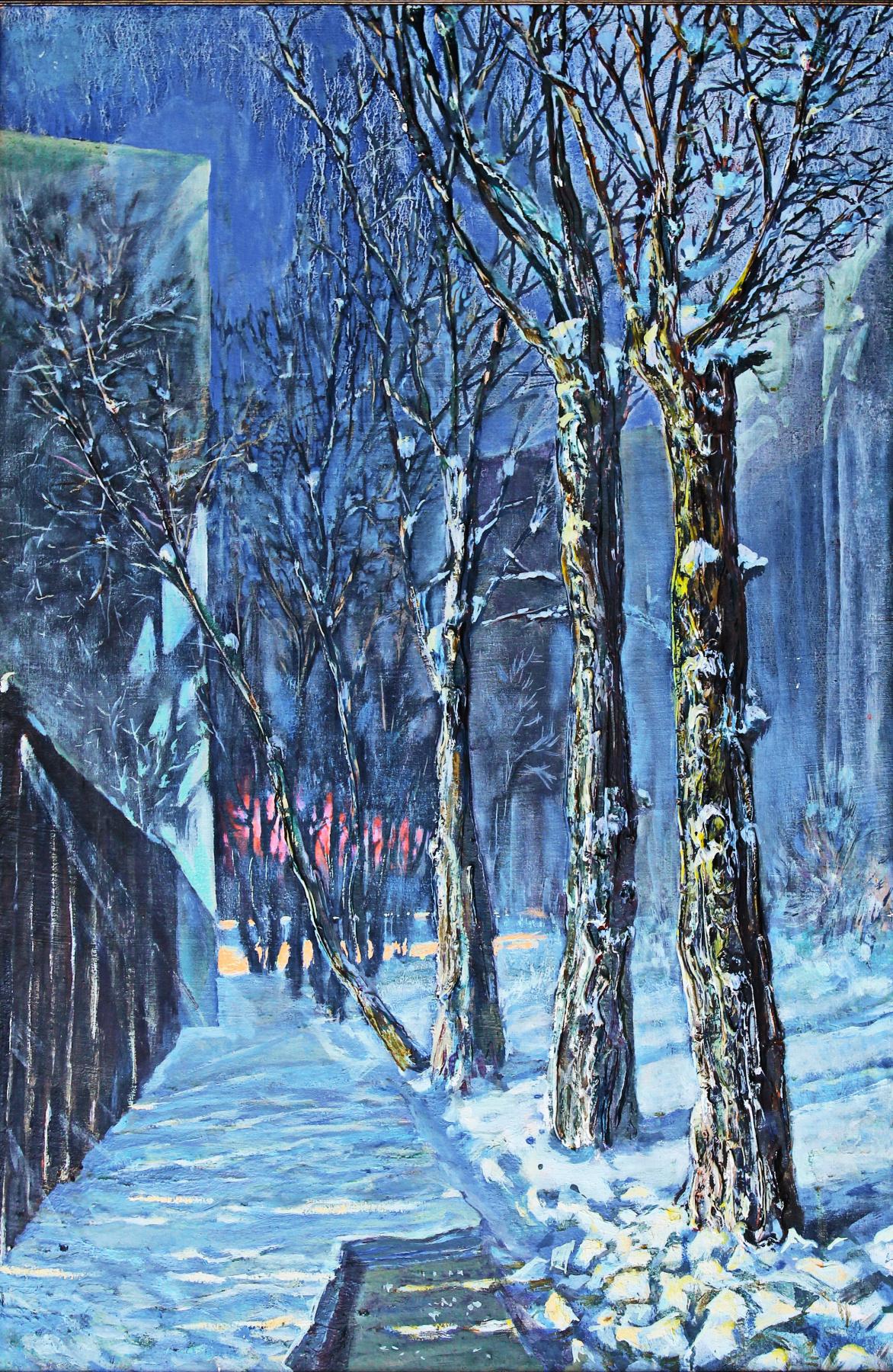 Leo Mikhailovich Karnaukhov. 3 hours.February.