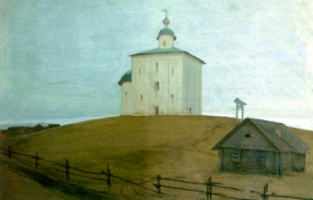 Андрей Петрович Рябушкин. Церковь