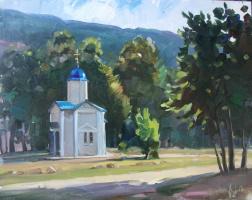 Sergey Anatolevich Bondaryuk. Morning on Podnavisla