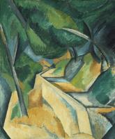 Georges Braque. Road near l'estaque